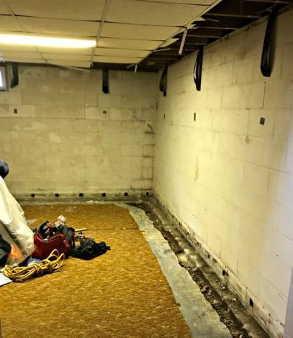 Leaking Basement Repaired in Rochester, MN