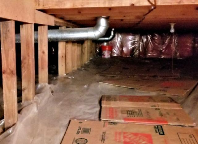 Crawl Space Repaired in Lakeville, MN