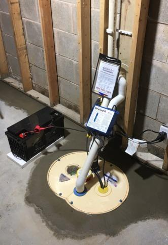 Sump Pump Replaced in Maple Grove, MN - After Photo