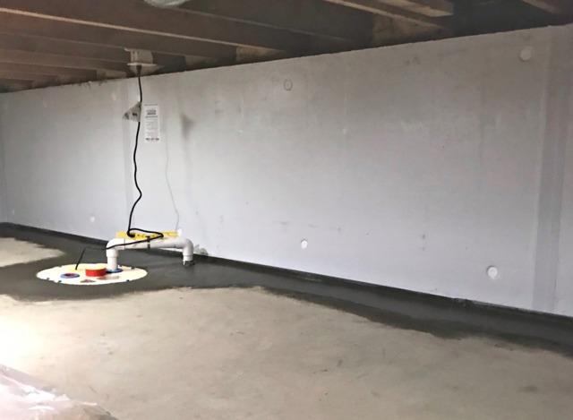 Crawl Space Waterproofed in Eden Prairie, MN