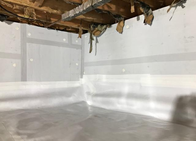 Crawl Space Waterproofed in Forest Lake, MN
