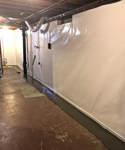 Leaking Basement Waterproofed in Independence, WI