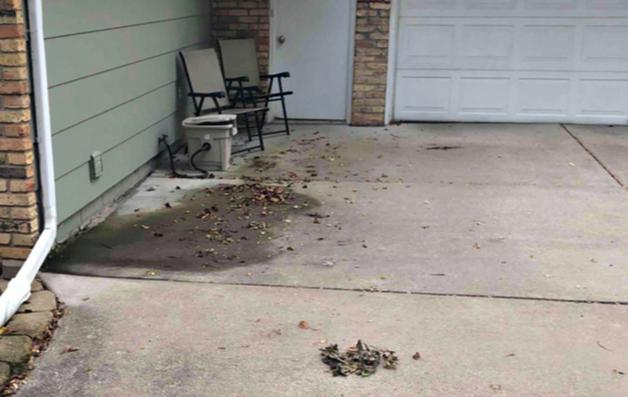 Concrete Driveway Repaired in Maple Grove, MN
