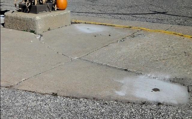 Concrete Repaired in Denver, IA