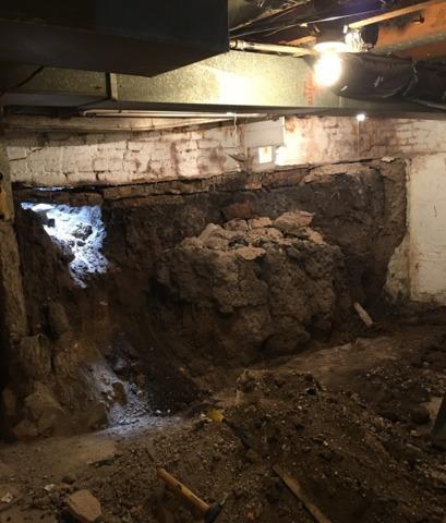 Failing Foundation Wall Stabilized in Hutchinson, MN