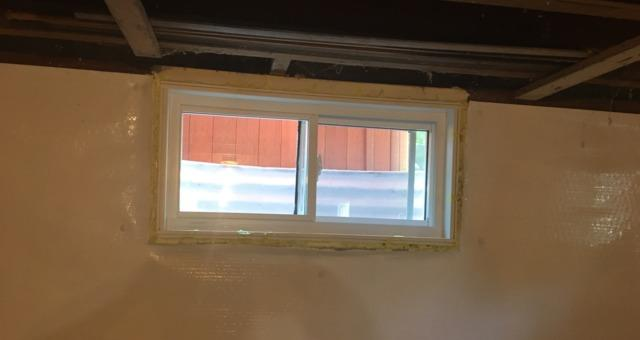 Basement Windows Replaced in Belle Plaine, MN