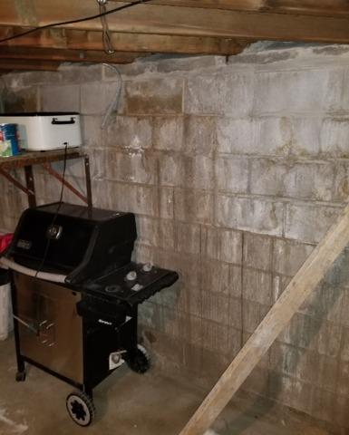 Basement Waterproofed and Foundation Restored in Worthington, MN