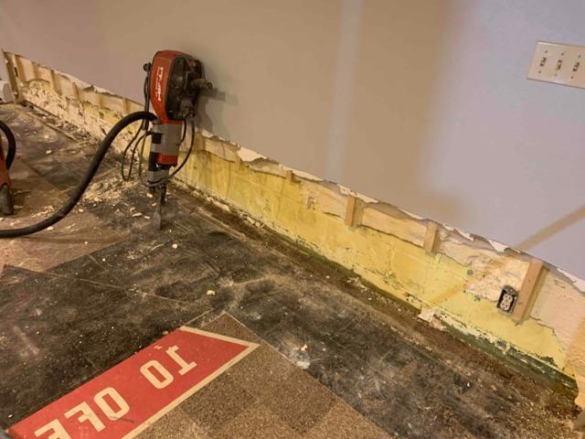 Leaking Basement Waterproofed in Warren, MN