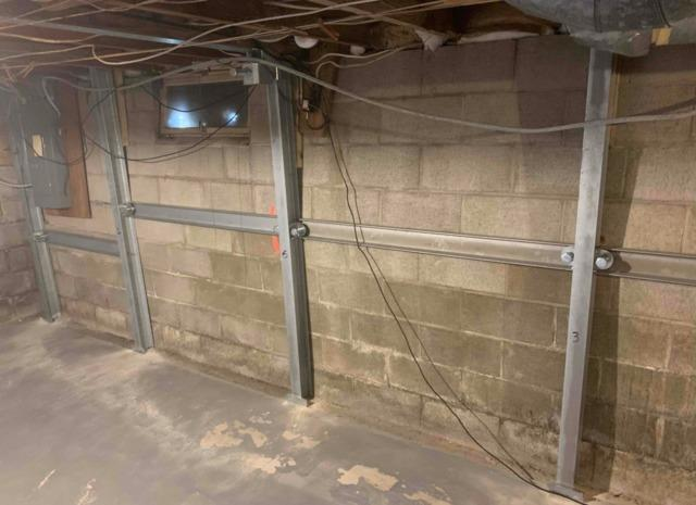 Foundation Wall Repaired in Thief River Falls, MN
