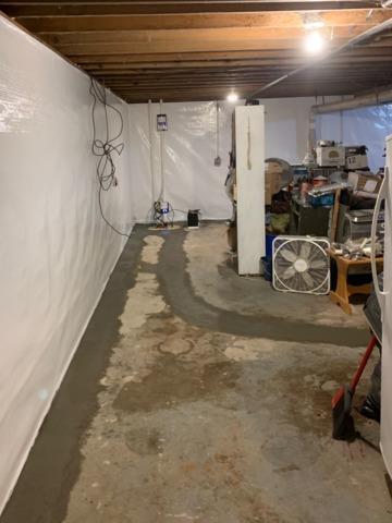 Basement Waterproofed in Blair, WI