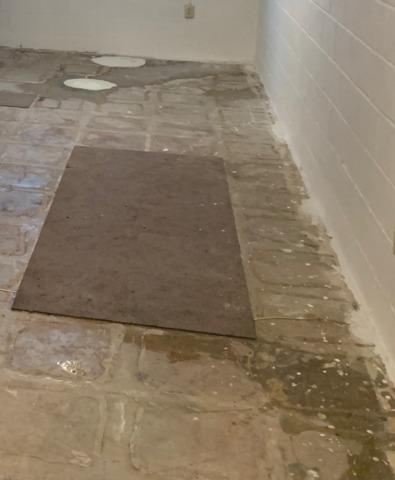 Interior Drainage System Installed in Kiester, MN