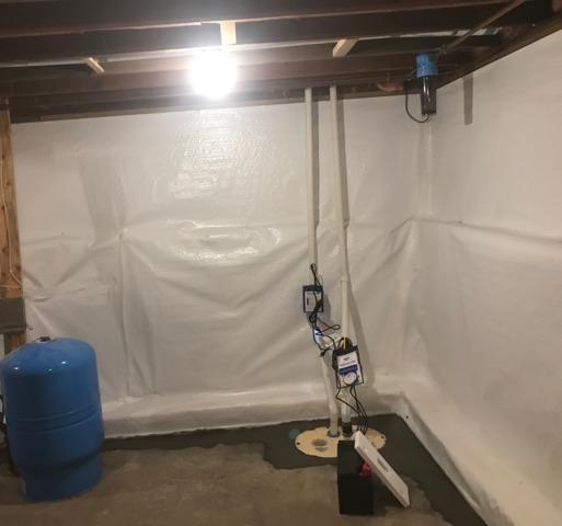 Basement Waterproofed in Sauk Centre, MN