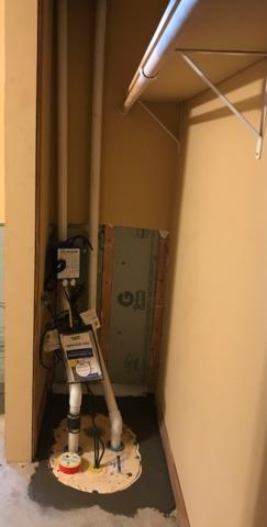 Sump Pump Installed in Waterville, MN