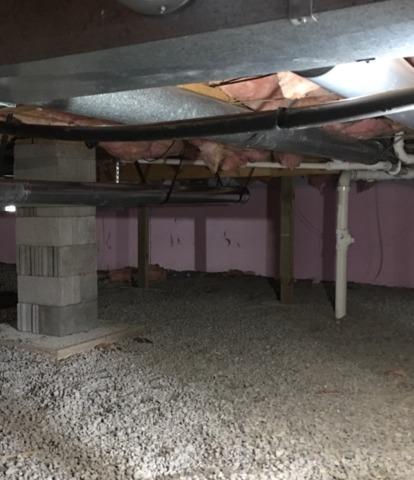 Crawl Space Waterproofing in Strum, WI