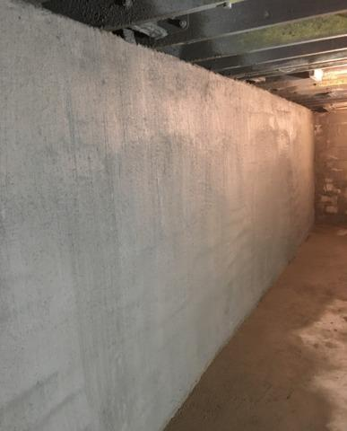 Foundation Wall Restored in Eau Claire, WI
