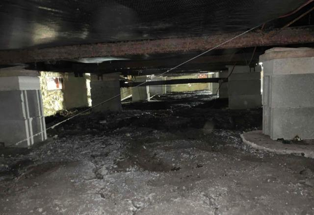 Crawl Space Encapsulated in Detroit Lakes, MN