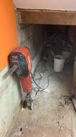 Leaking Basement Waterproofed in Fosston, MN