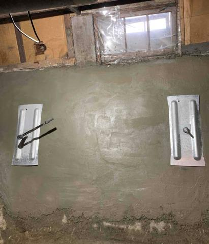 Deteriorated Foundation Wall Restored in Fergus Falls, MN