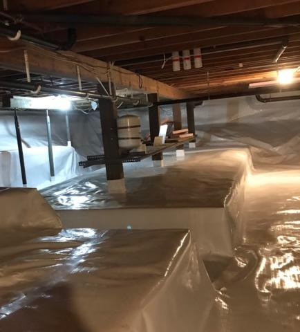Crawl Space Sealed in Cambridge, MN