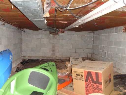 Crawl Space Waterproofed in La Crosse, WI