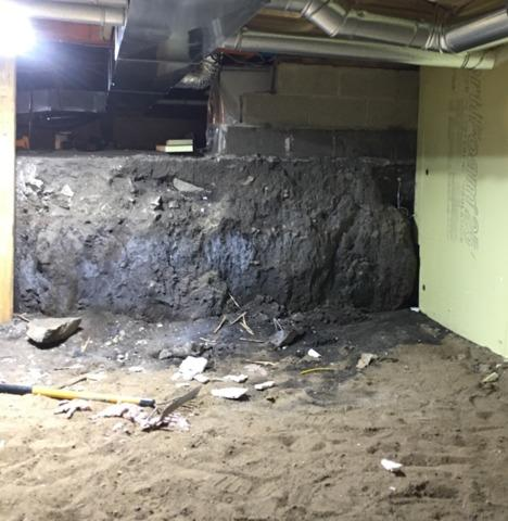 Crawl Space Fix in Charles City, IA