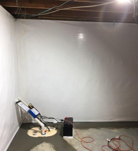 Leaking Basement Fixed in New Hampton, IA