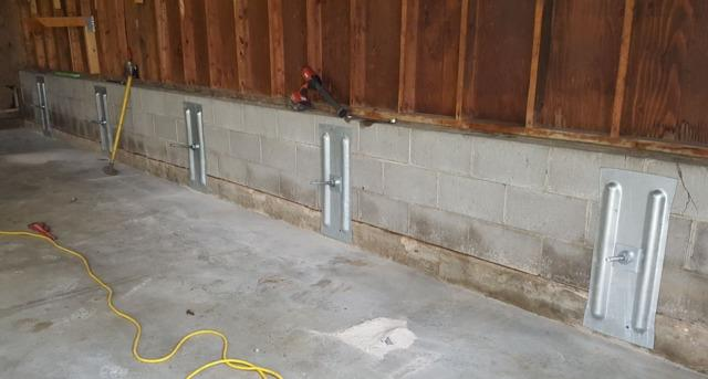 Crack in Foundation Wall in Coon Valley, WI - After Photo