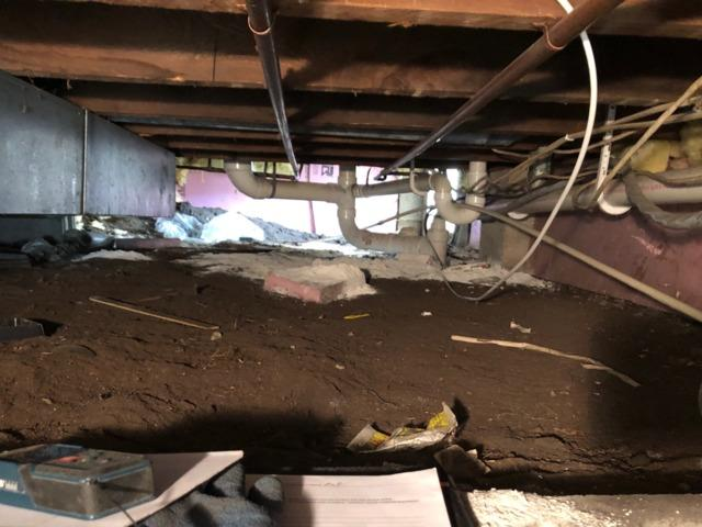Musty Crawl Space Fixed in Stoddard, WI