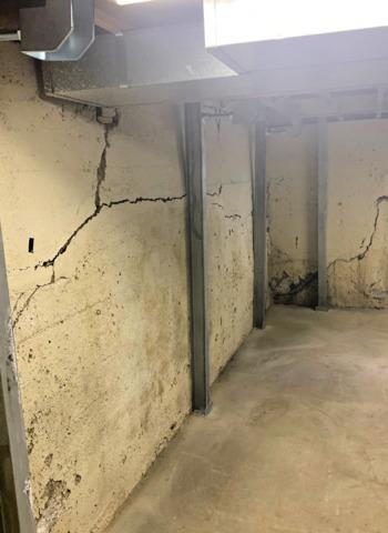 Foundation Wall Fixed in Thief River Falls, ND