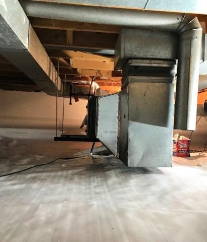 Crawl Space Encapsulation in Inver Grove Heights, MN