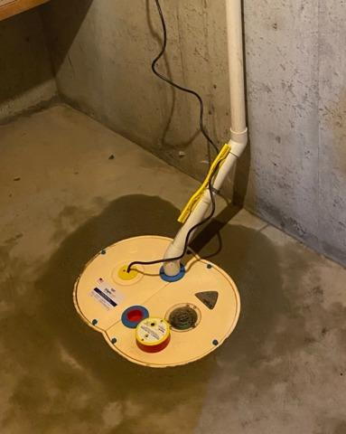 Sump Pump Replaced in Fargo, ND