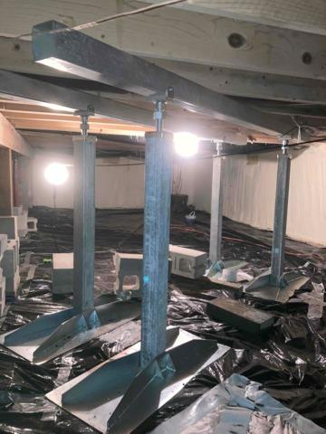 Sagging Floors Restored in Ottertail, MN