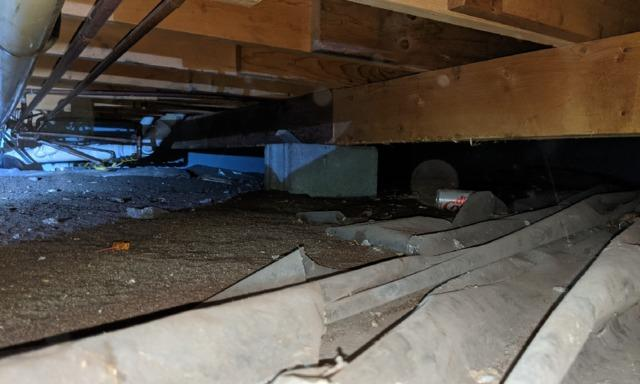 Crawl Space Encapsulated in Ottertail, MN
