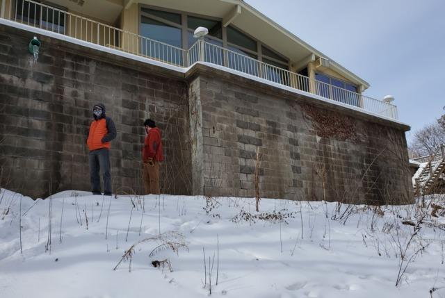 Retaining Wall Repaired in Eau Claire, WI