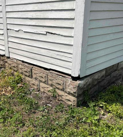 Settling Foundation Repaired in Hancock, MN