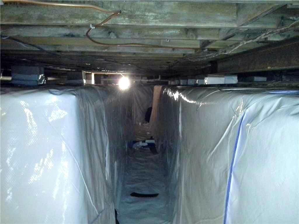 No Crawlspace layout is Unsuitable for CleanSpace - After Photo