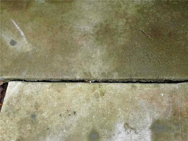Walkway Slab Leveled in Braselton