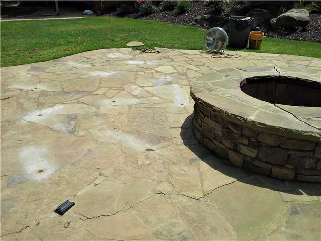 PolyLEVEL Even Lifts Stone Patios in Dallas