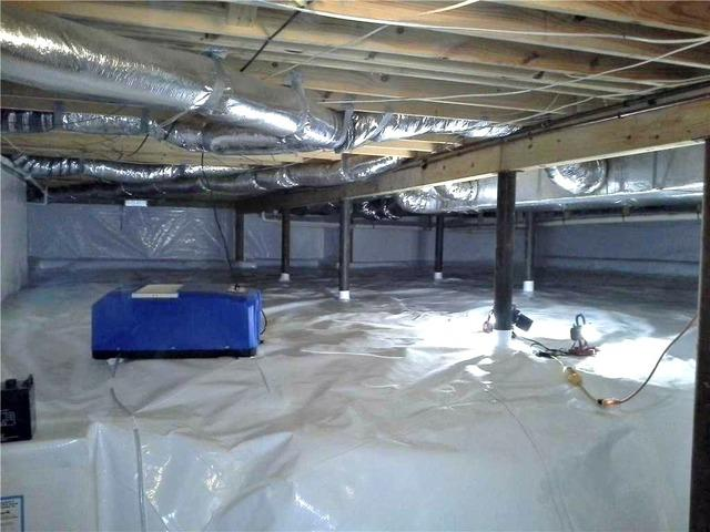 Major Crawl Space Encapsulation in Flowery Branch, GA