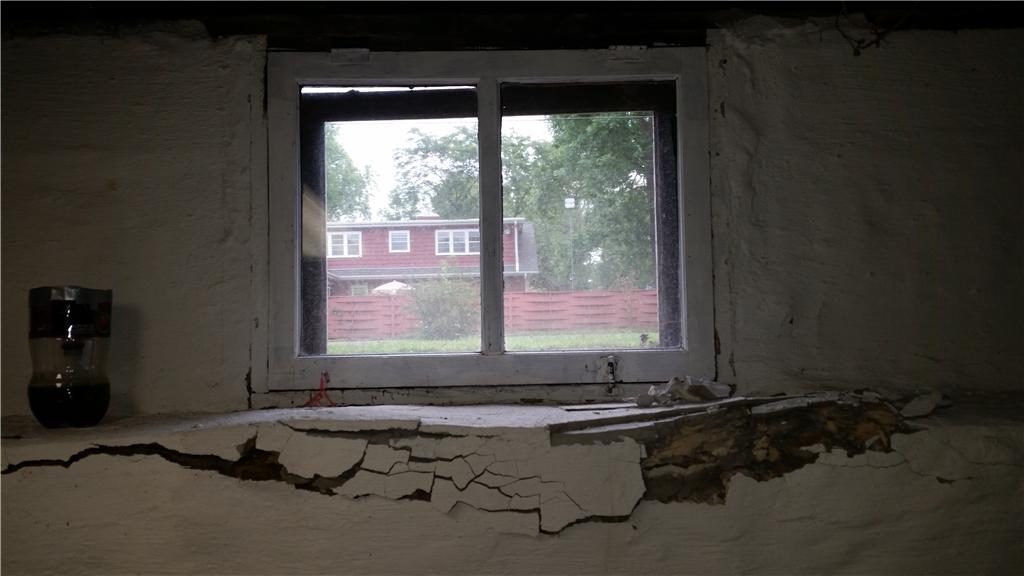 New Basement Window - Before Photo