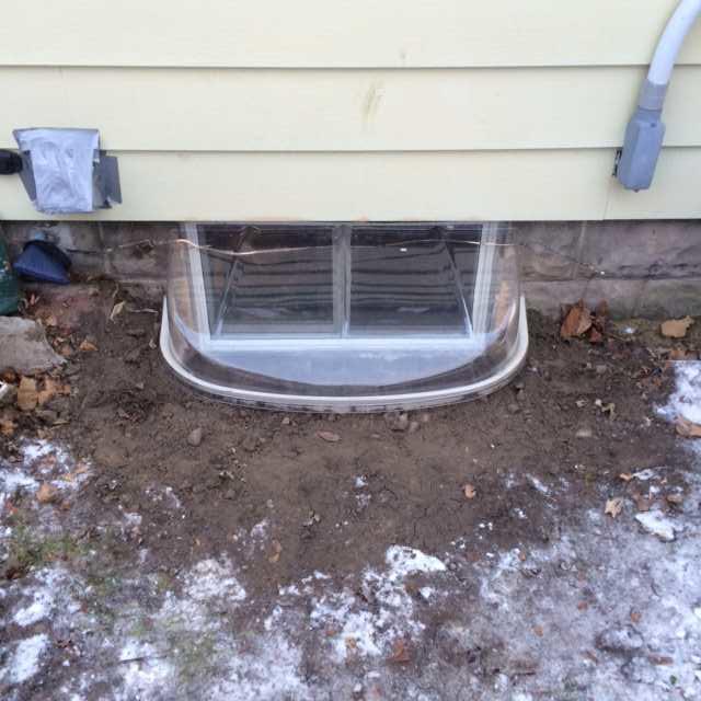 Window Well Installation in Augusta, Wisconsin - After Photo
