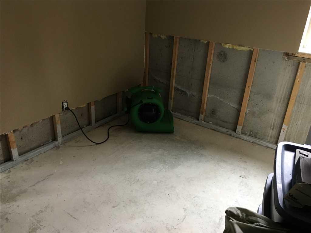 Mcfarland WI waterproofing - Before Photo