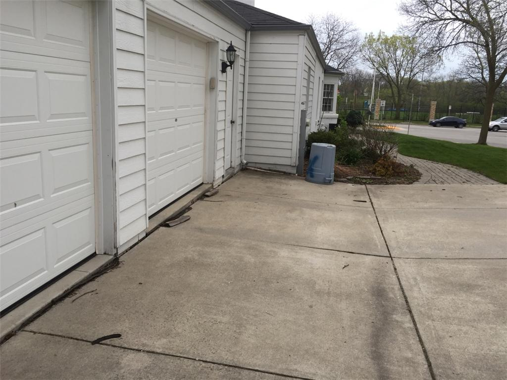 Concrete lifting in Wauwatosa - Before Photo