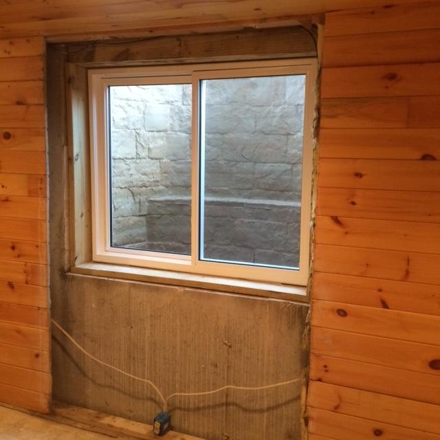 Egress Window - After Photo