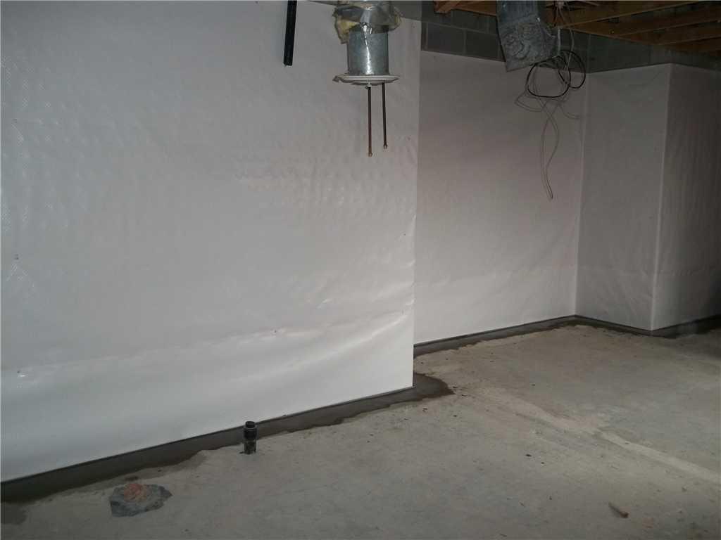 Basement Waterproofing at Nemacolin Woodlands Resort in Farmington, PA - After Photo