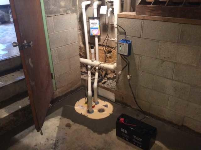 Basement Waterproofing in Farmington, PA - After Photo