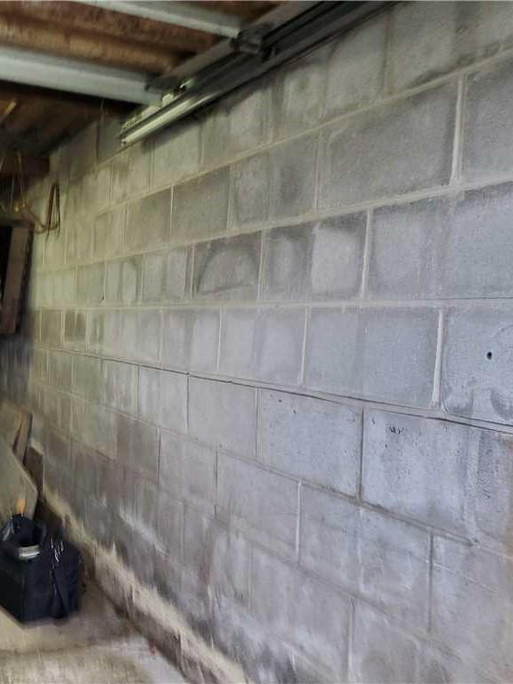 Foundation Repair in Davidsville, PA - Before Photo