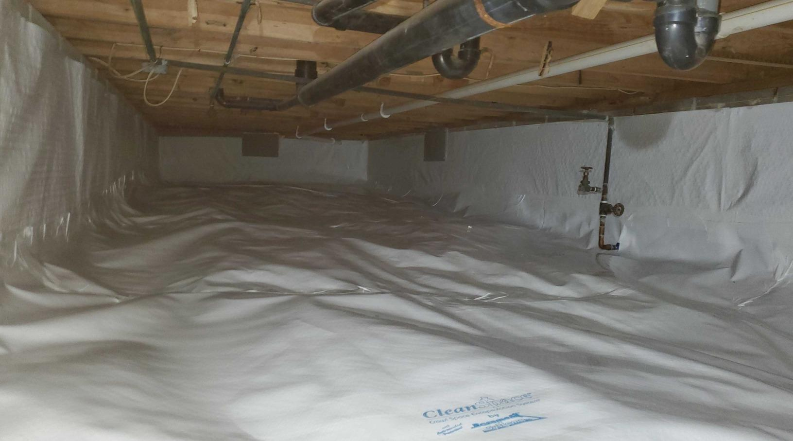 Total Crawlspace Repair in Stoystown, PA - After Photo