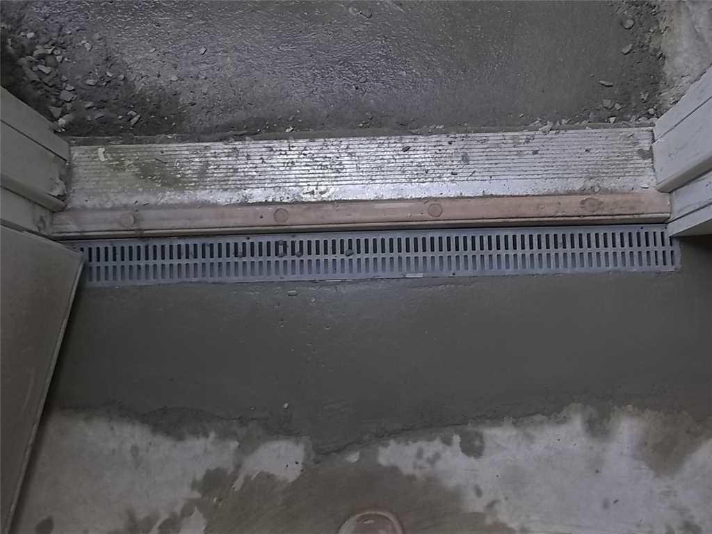 Trench Drain Installed in Kingwood WV  - After Photo
