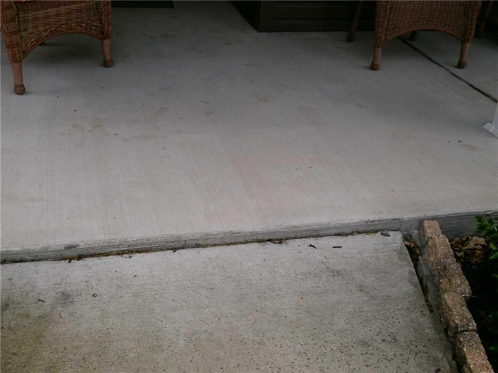 Sidewalk Leveling in Boswell, PA  - Before Photo